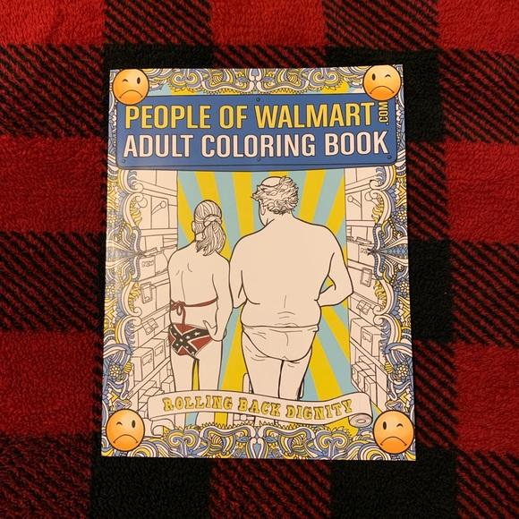 Walmart Other People Of Walmart Coloring Book Poshmark